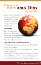 How Much Does God Love You?-Burgundy Globe Spanish