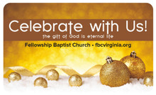 Celebrate with Us! Gold Bulbs