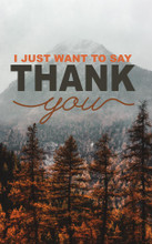 Thank You-Fall Mountain