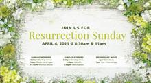 Resurrection Sunday-Wood and Flowers