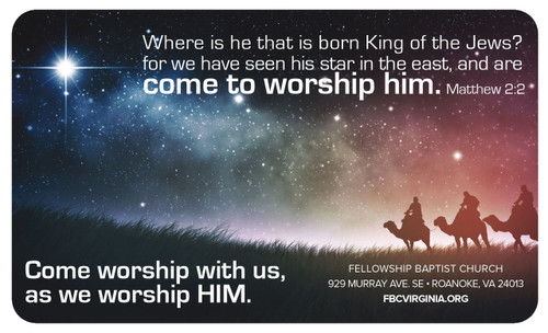 Come Worship Him
