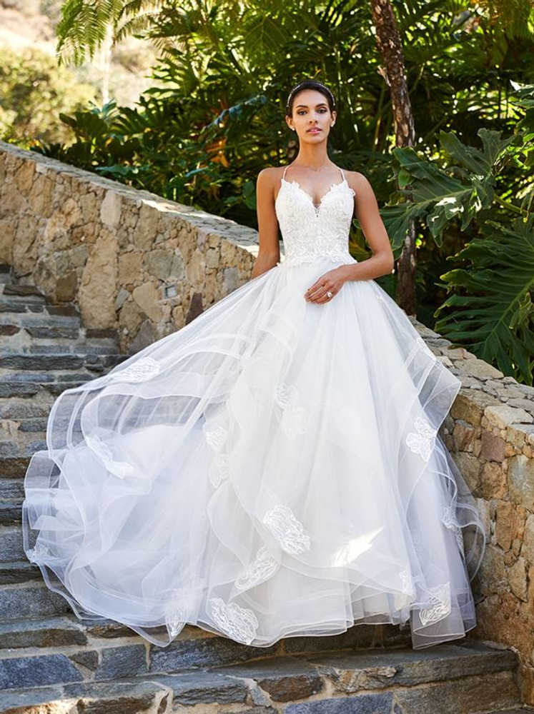 Kristen Wedding Gown J6581B by Moonlight Bridal