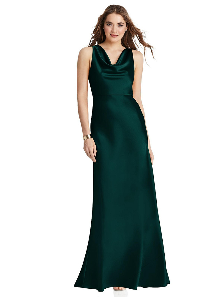 Nova - Cowl Neck Maxi Tank Dress