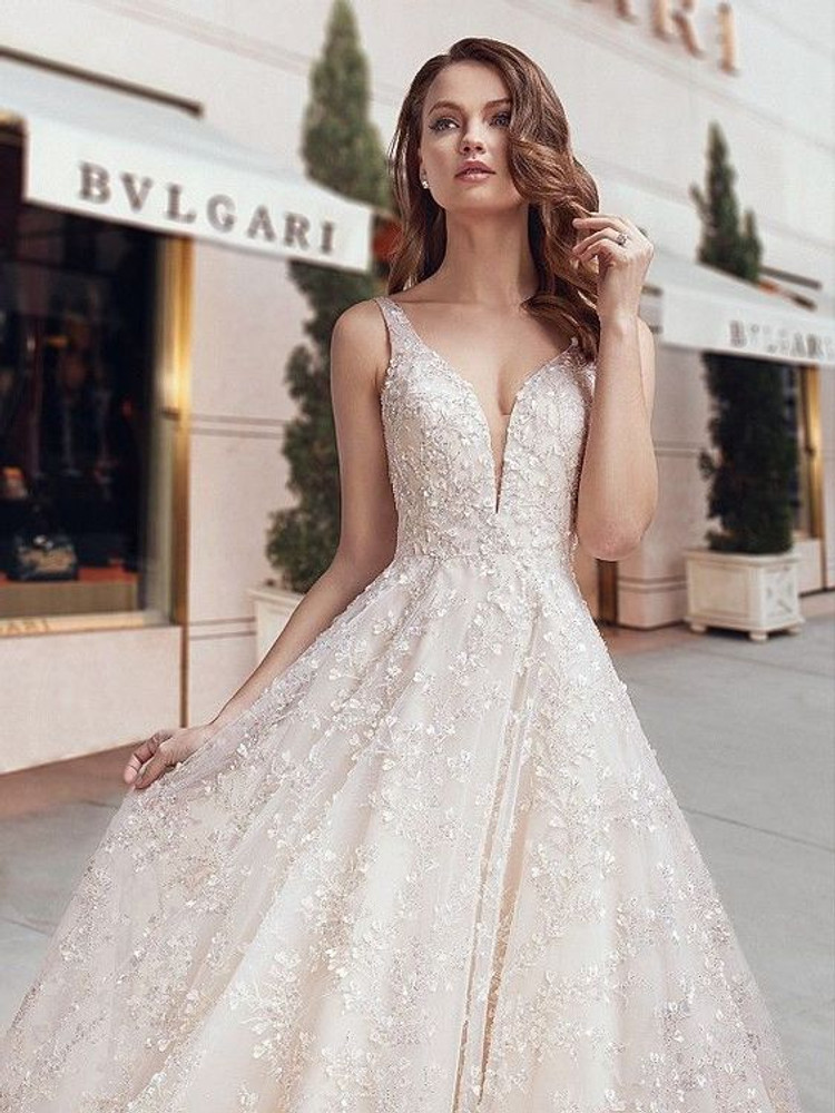 Lark H1445 by Moonlight Bridal