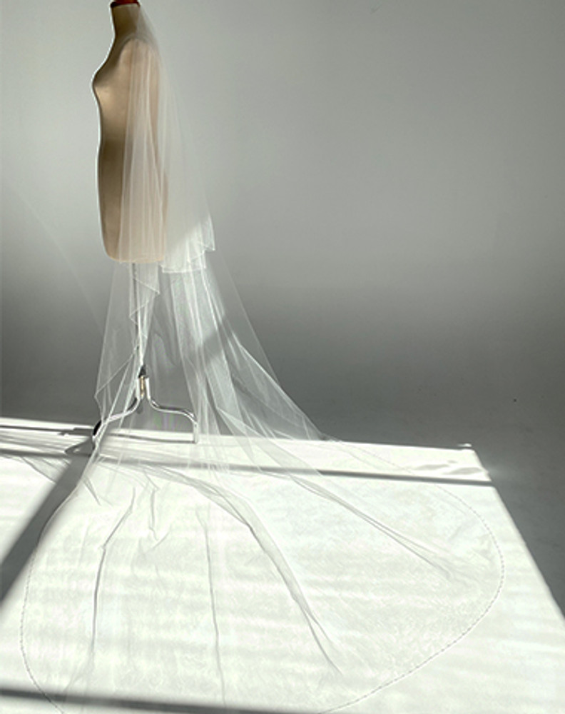 Cathedral Light Crystal Edged Veil $299 to $399