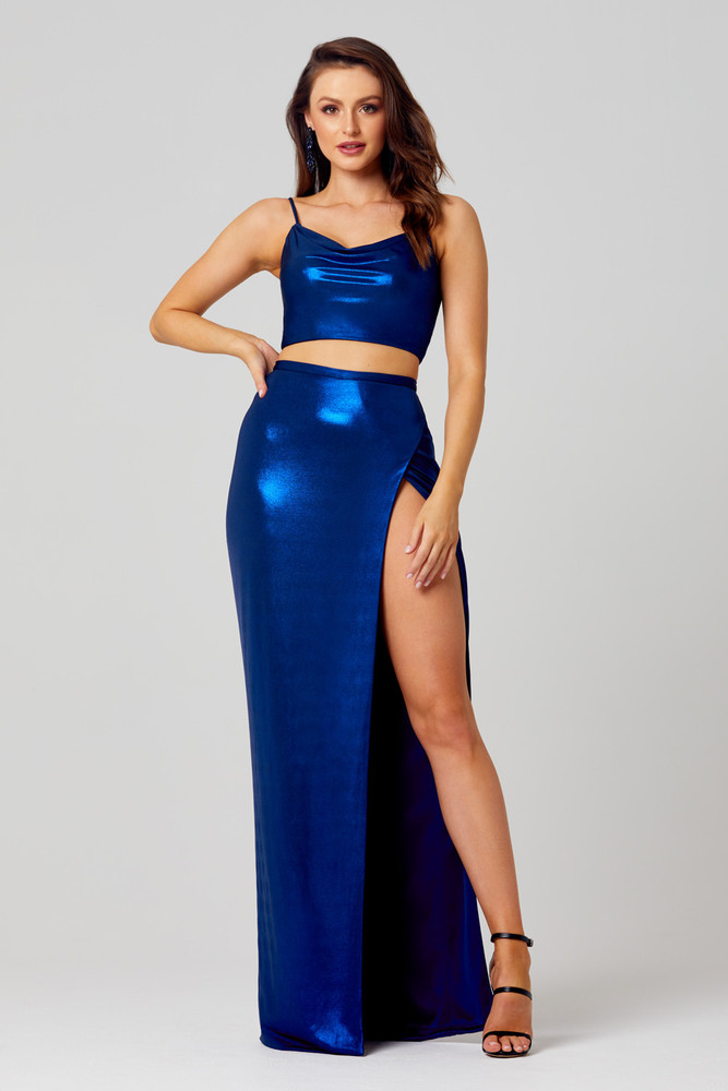 Sierra Fitted Two Piece Formal Dress by Tania Olsen Designs