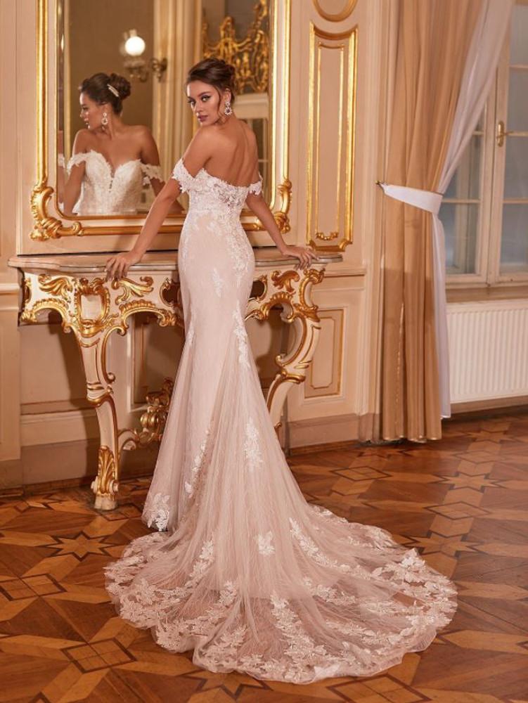 Echo Wedding Gown J6830 by Moonlight Bridal