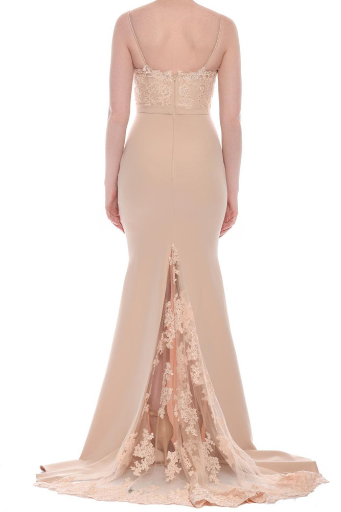 Dior Dress by Jadore J8034 in Nude size 14