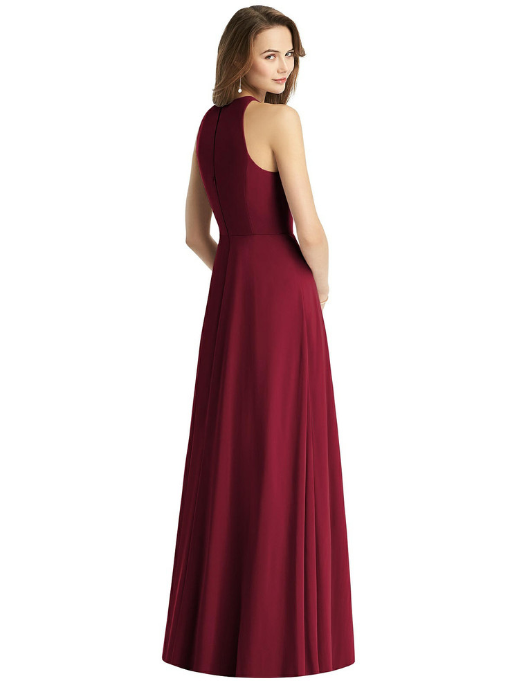 Sleeveless Halter Chiffon Maxi Dress by Thread Bridesmaid Style TH011 in 61 colors