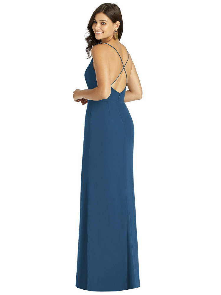 Criss Cross Back Mermaid Wrap Dress by Thread Bridesmaid Style TH009 in 61 colors