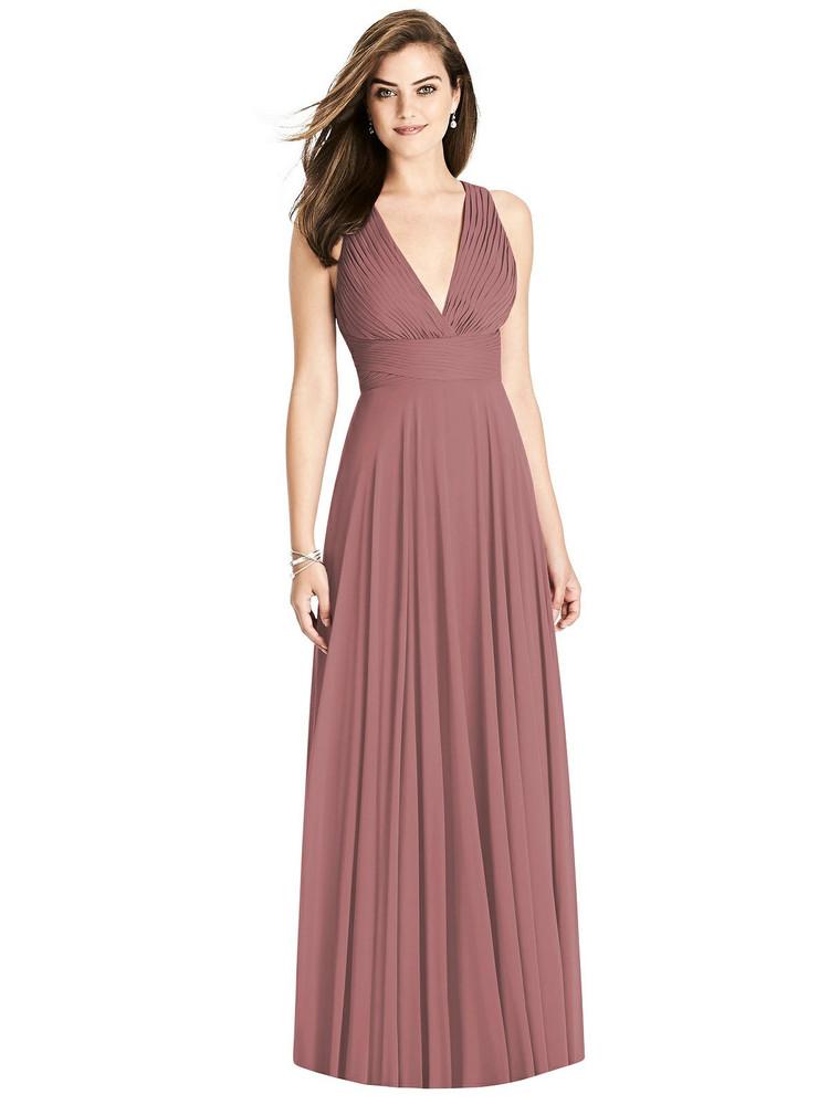 Bella Bridesmaids Dress BB117 in 64 colors rosewood