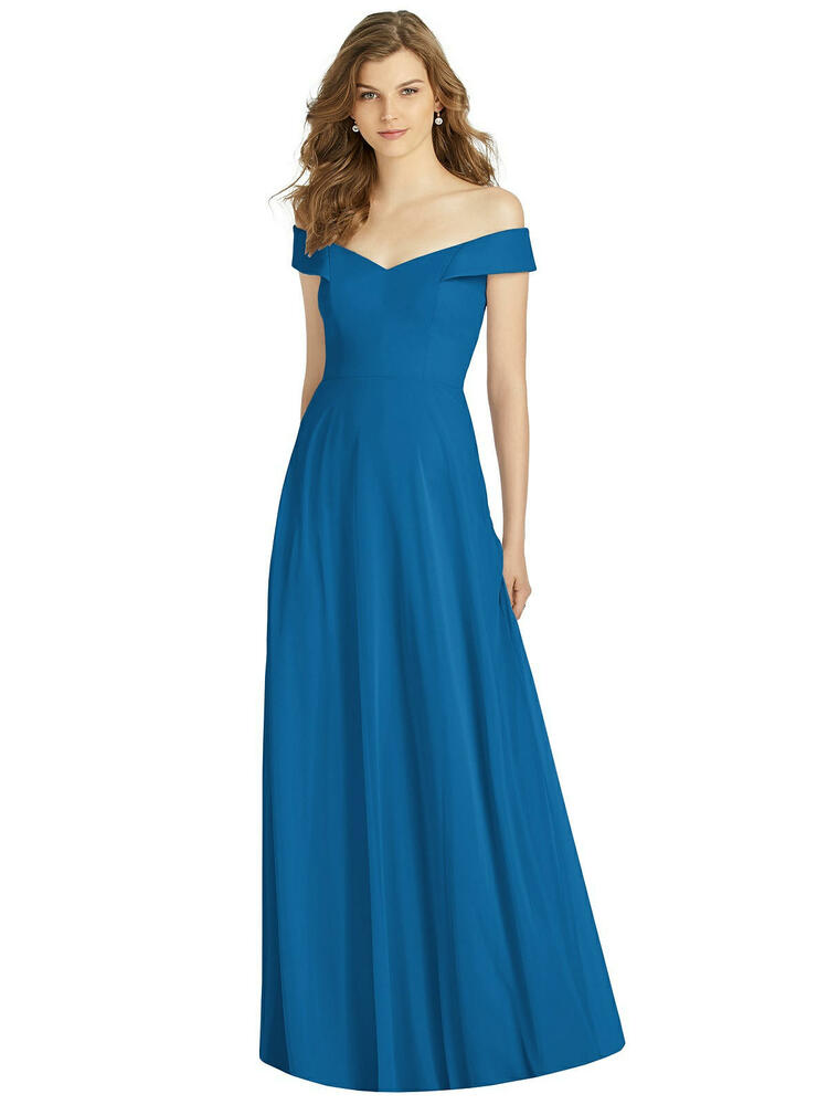 Bella Bridesmaids Dress BB123 in 64 colors classic blue