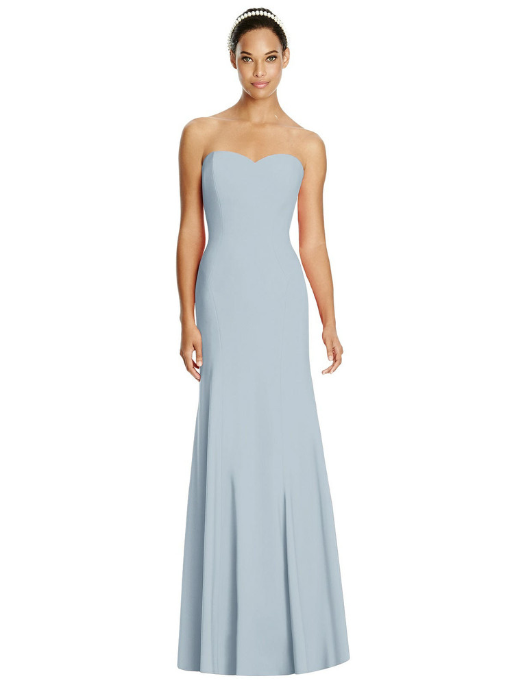 Sweetheart Strapless Flared Skirt Maxi Dress by Studio Design 4515 in 31 colors
