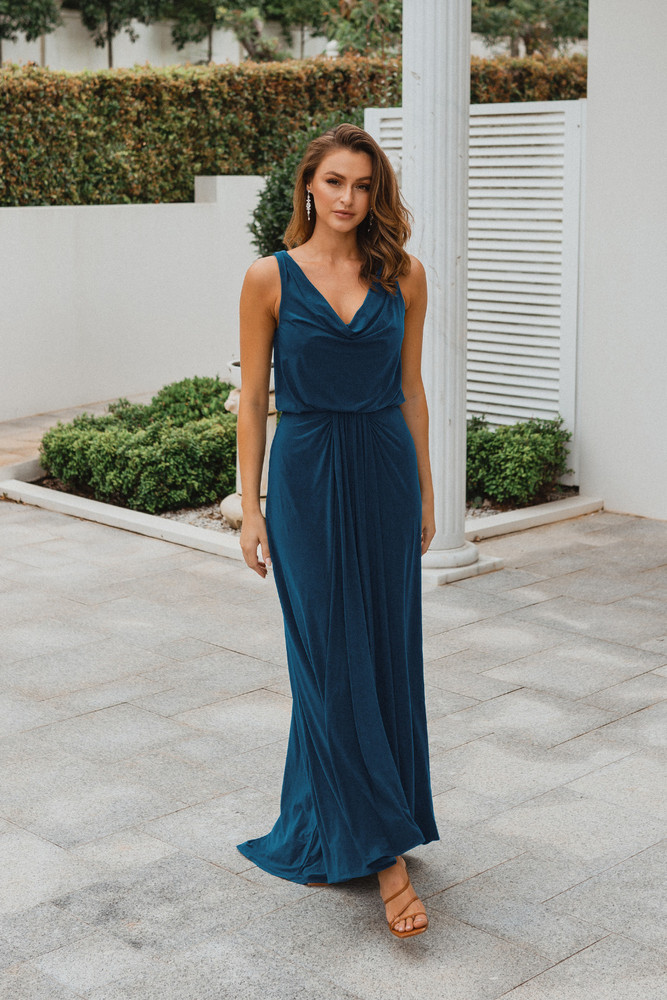 Novara TO871 Bridesmaids Dress by Tania Olsen in Teal