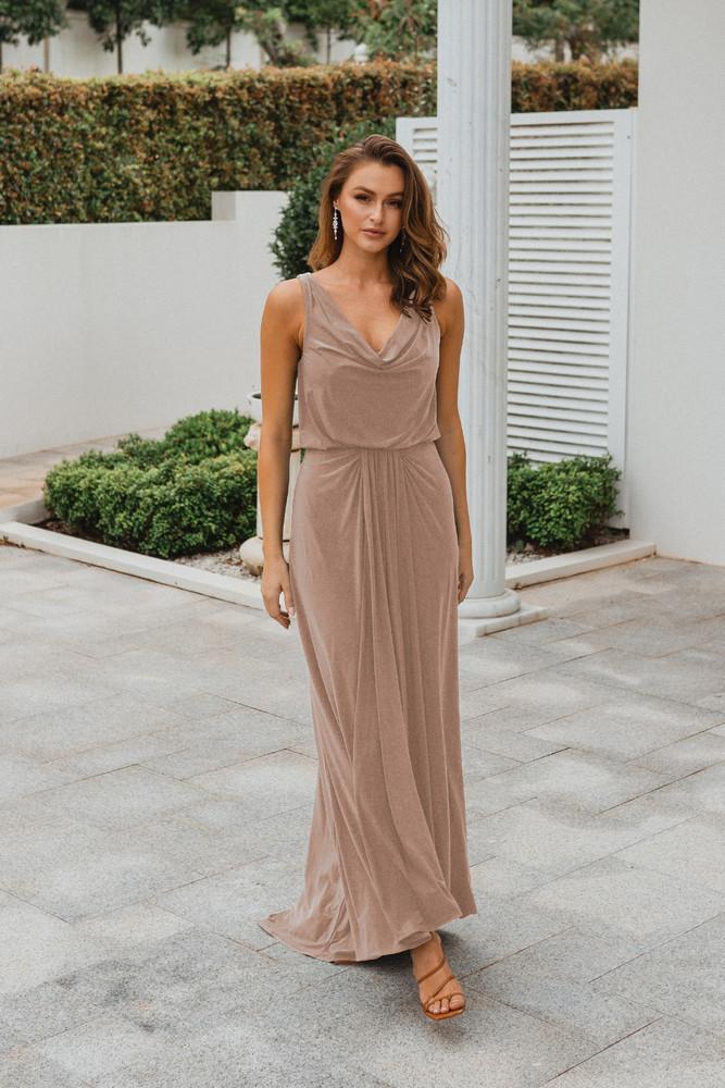 Novara TO871 Bridesmaids Dress by Tania Olsen in Blush