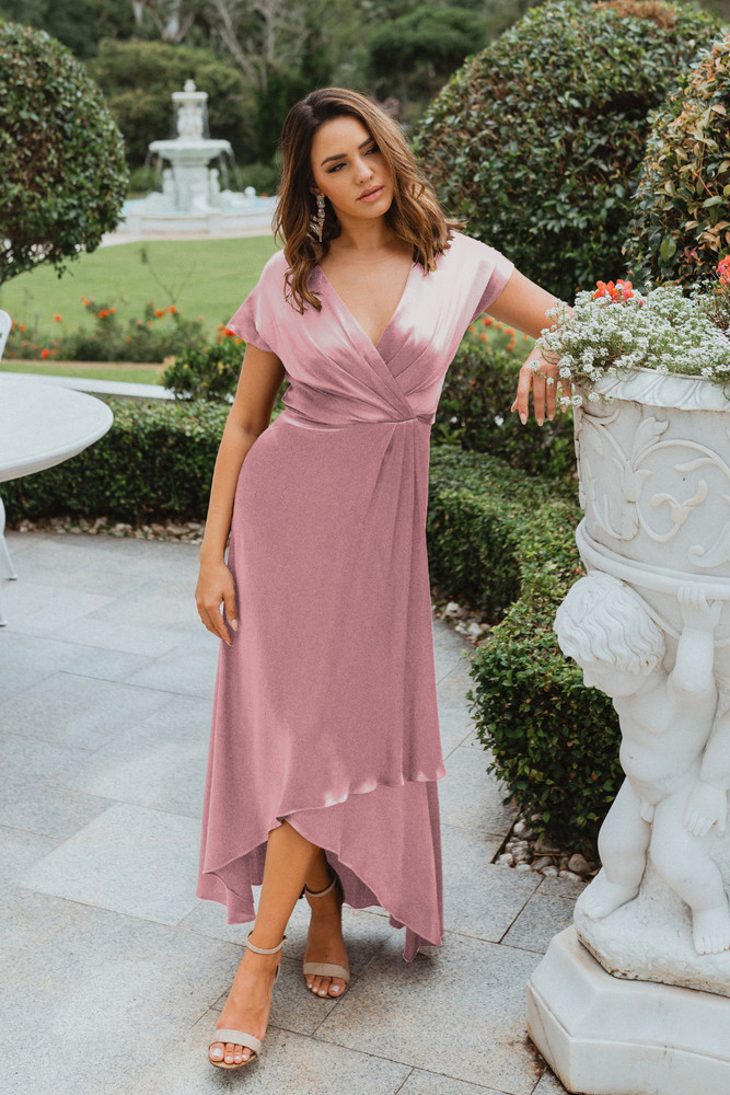 Napier TO868 Bridesmaids Dress by Tania Olsen in Rose