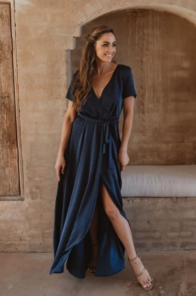 Chester TO866 Bridesmaids Dress by Tania Olsen in Navy