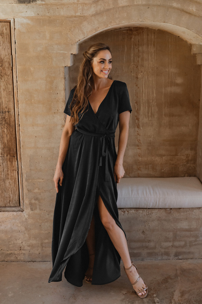 Chester TO866 Bridesmaids Dress by Tania Olsen in Black