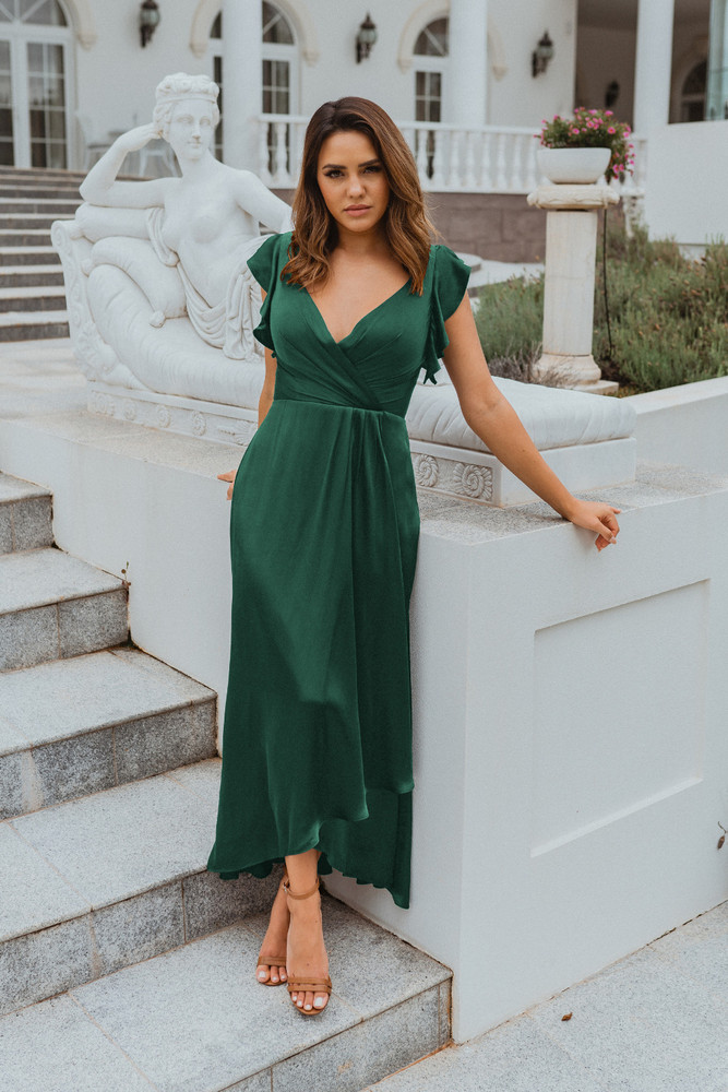 Brighton TO865 Bridesmaids Dress by Tania Olsen in Emerald