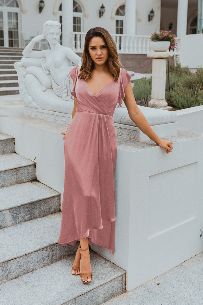 Brighton TO865 Bridesmaids Dress by Tania Olsen in Rose
