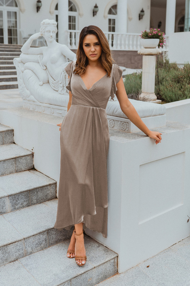 Brighton TO865 Bridesmaids Dress by Tania Olsen in Champagne