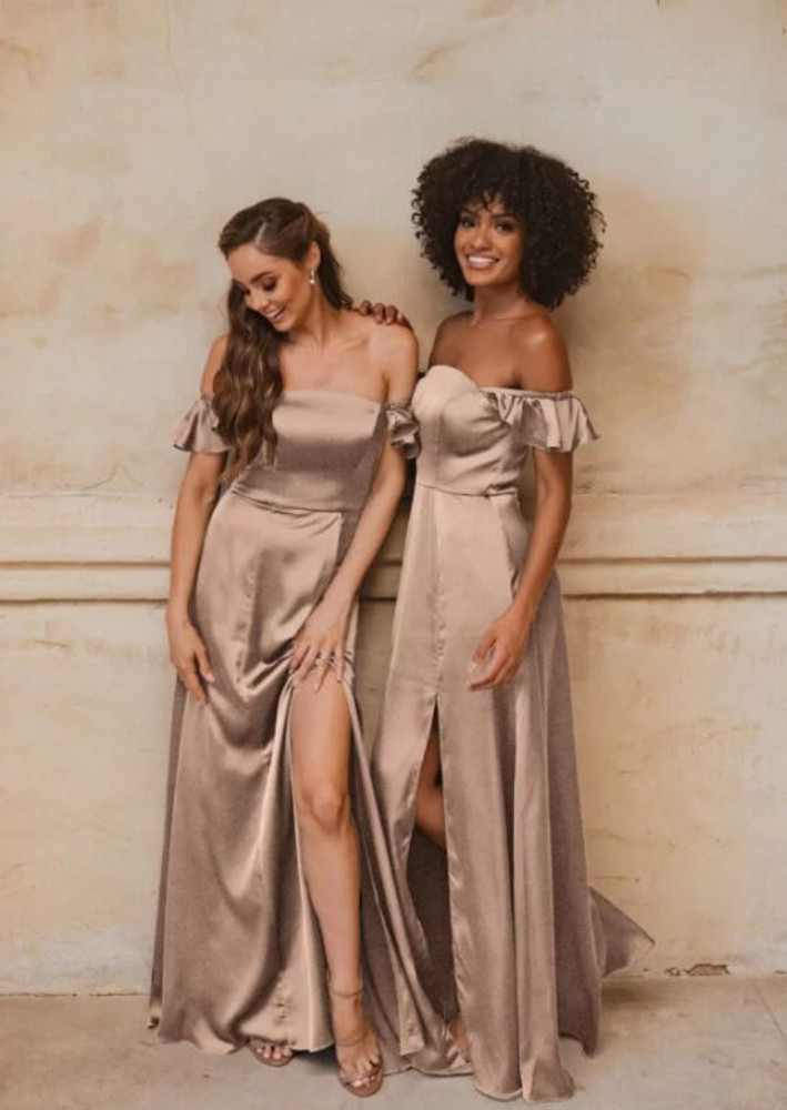 Osaka TO874 Bridesmaids Dress by Tania Olsen in Champagne