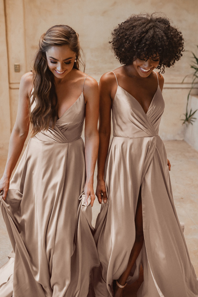 Suva TO875 Bridesmaids Dress by Tania Olsen in Champagne