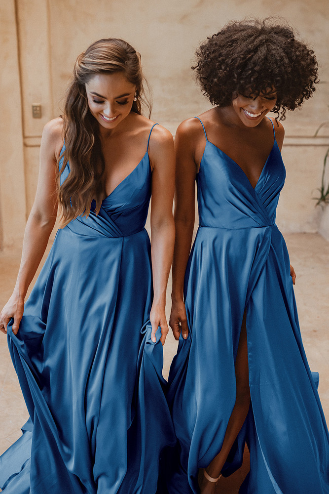 Suva TO875 Bridesmaids Dress by Tania Olsen in Peacock
