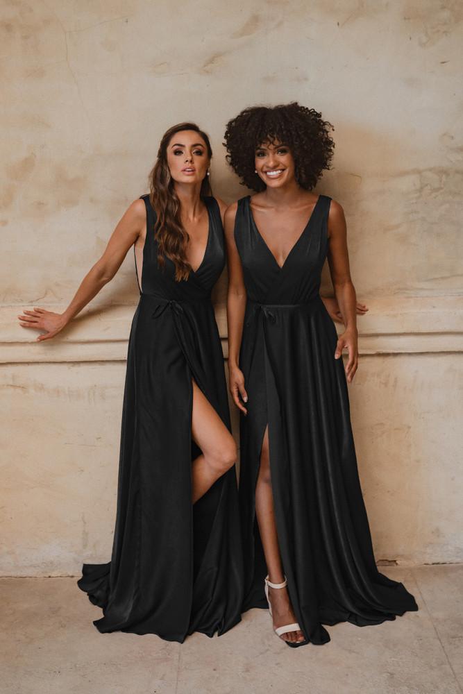 Napa TO861 Bridesmaids Dress by Tania Olsen in Black