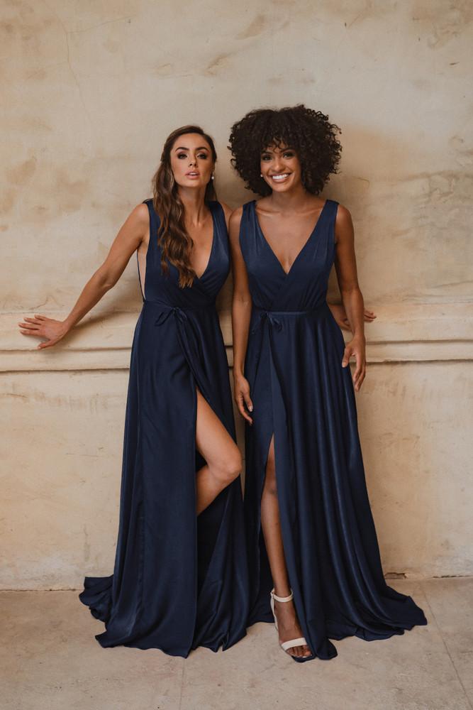 Napa TO861 Bridesmaids Dress by Tania Olsen in Navy