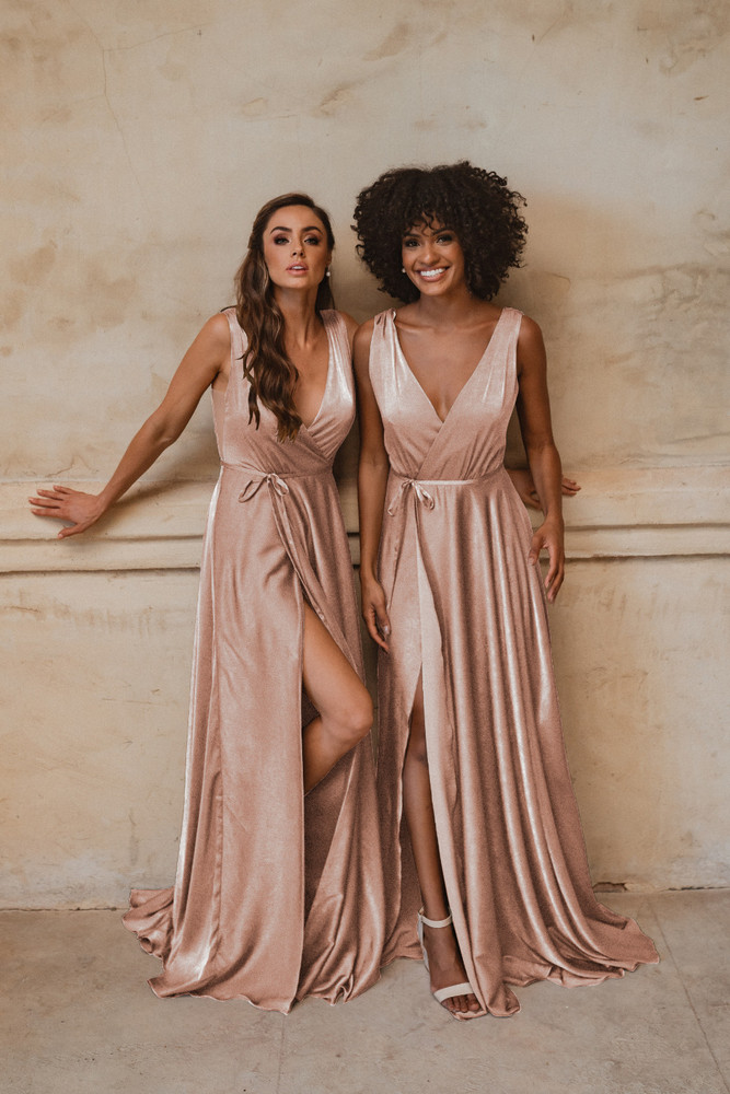 Napa TO861 Bridesmaids Dress by Tania Olsen in Champagne