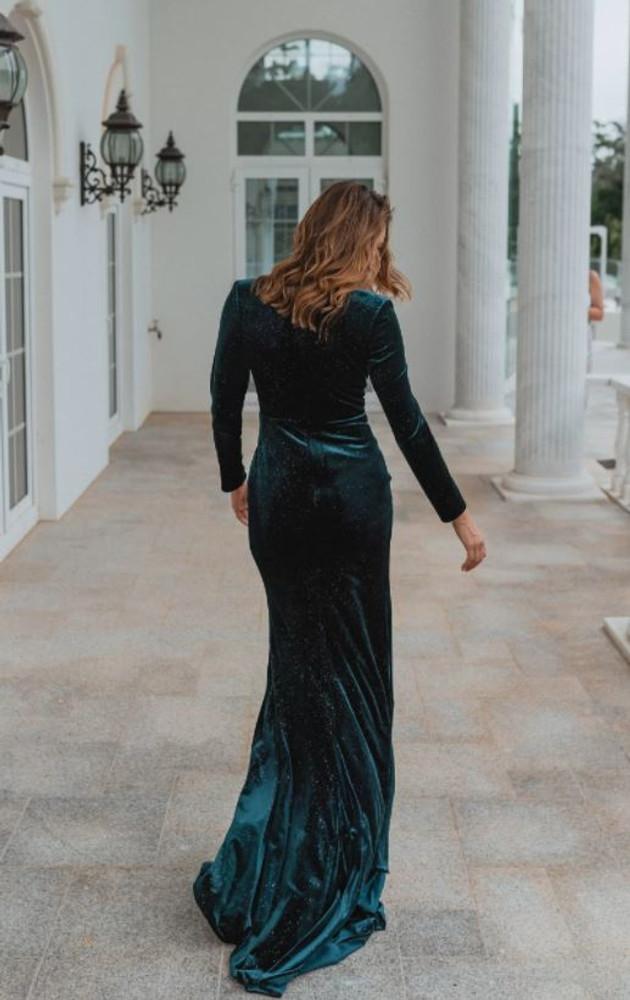 Komoto PO925 Evening Dress by Tania Olsen