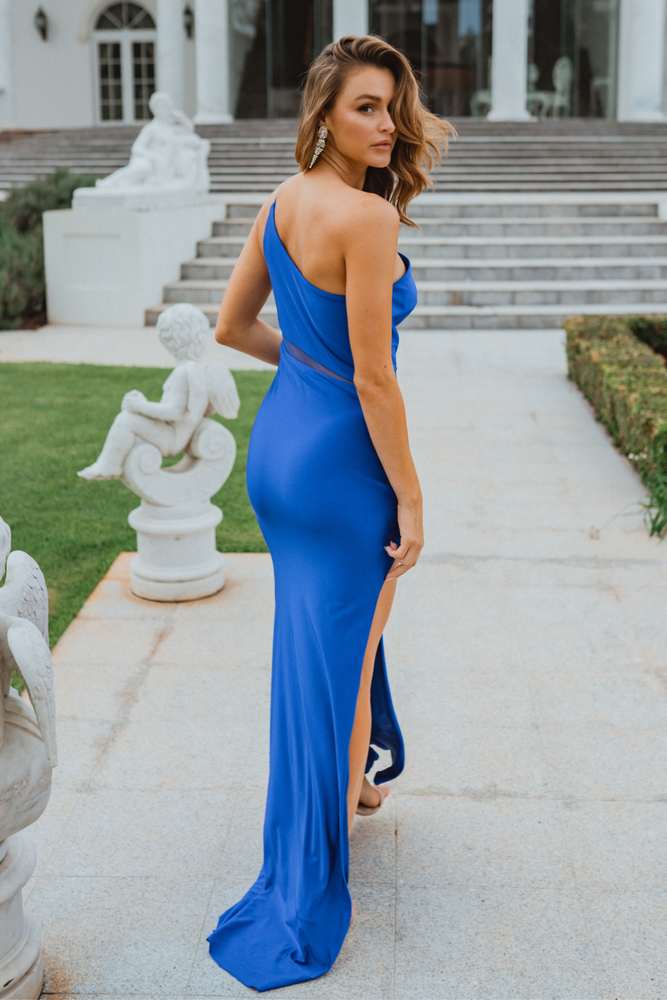 Beckley PO902 Evening Dress by Tania Olsen in Cobalt