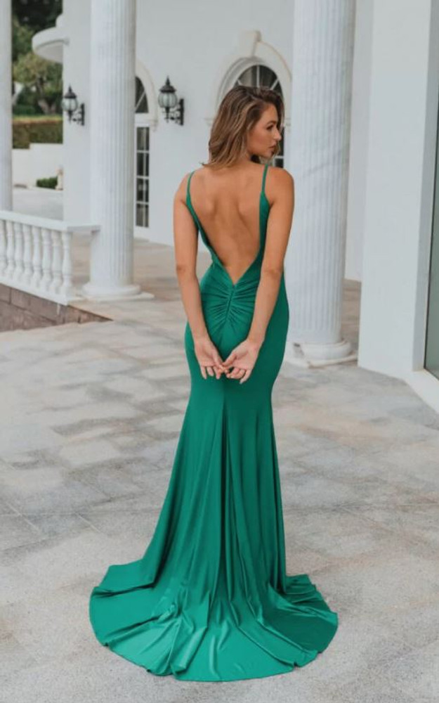 Lima PO901 Evening Dress by Tania Olsen in Green