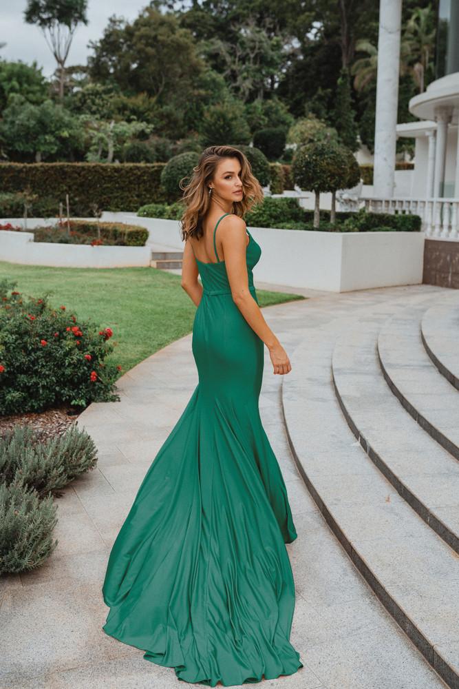 Manila PO900 Evening Dress by Tania Olsen in Green