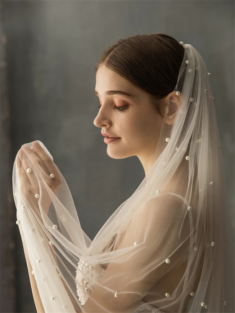 Pearl Cathedral  Veil 3M & 3.5M