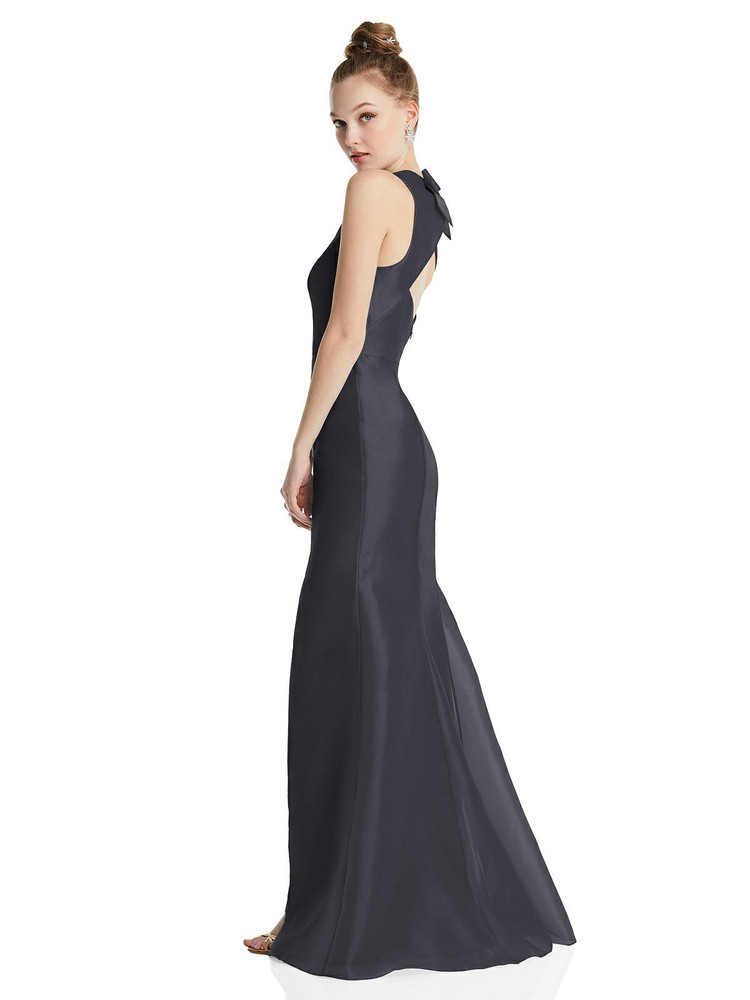 Bateau Neck Open-Back Maxi Dress with Bow Detail TH069 By Thread Bridesmaids in 22 colors