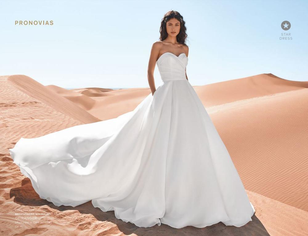 Geiranger Wedding Gown by Pronovias Barcelona Bridal