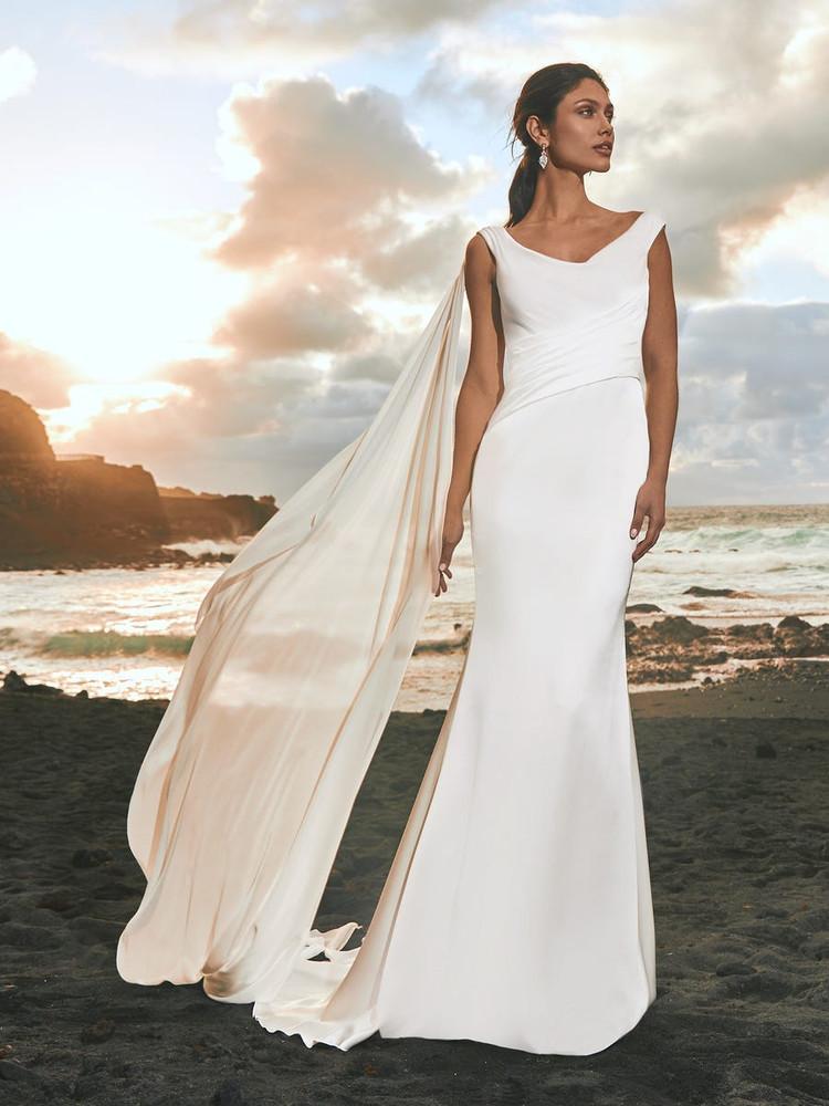 Fumarole Wedding Gown by Pronovias Barcelona Bridal