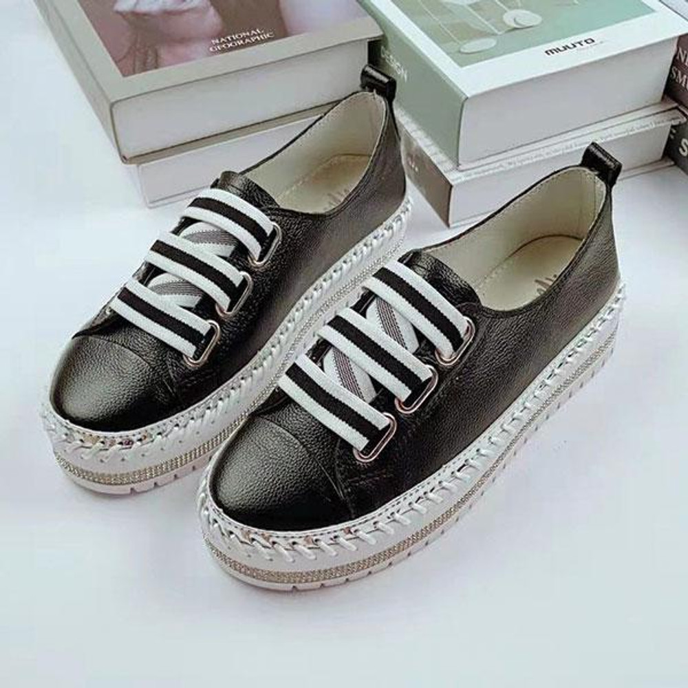 ROBIN leather sneakers by Ameise in 2 colors