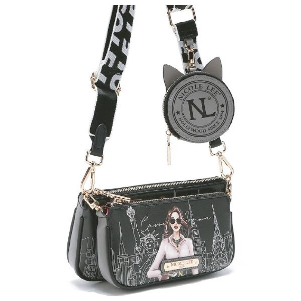 3 PIECE CROSSBODY WITH COIN PURSE by Ameise