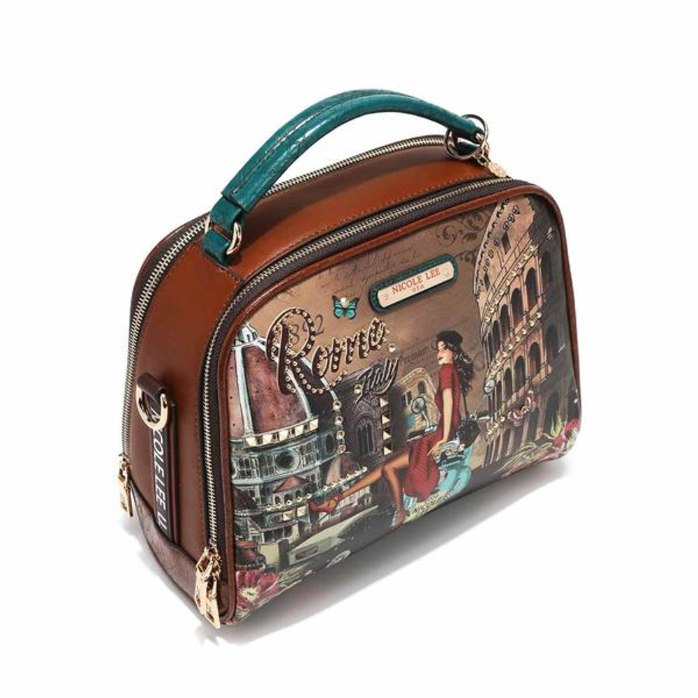 Nicole Lee MEMORY OF ROME TOP HANDLE BAG by Ameise