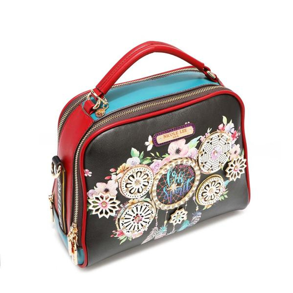 Nicole Lee Dream Of All Colours Top Handle Bag by Ameise