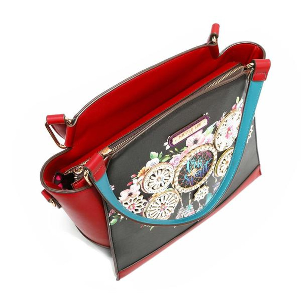 Nicole Lee Dream Of All Colors Satchel by Ameise