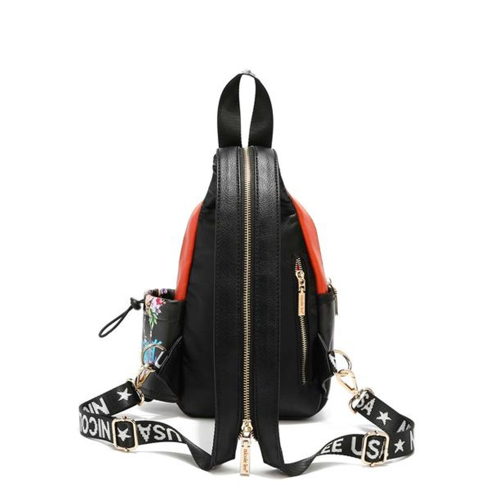 Nicole Lee MULTI-STRAP BACKPACK WITH EARPHONE PORT by Ameise