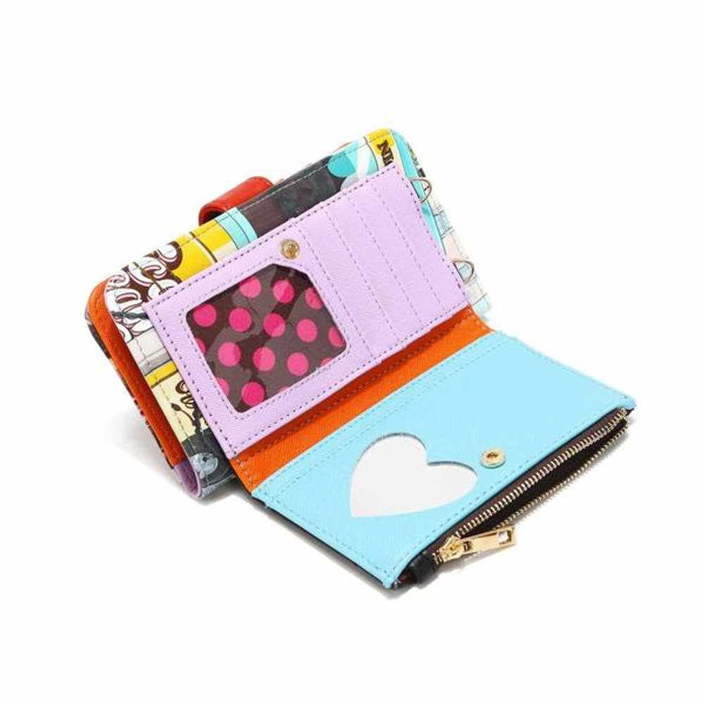 Nicole Lee Bifold Wallet And Phone Case Crossbody by Ameise