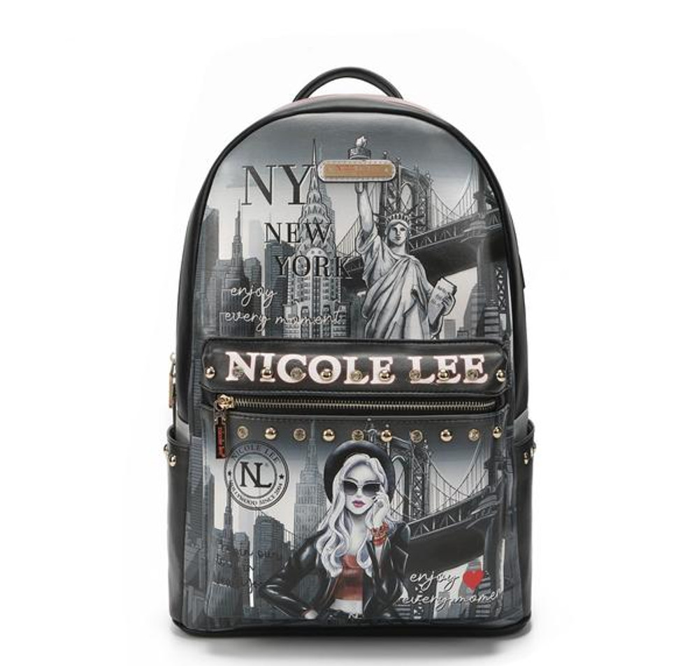 Nicole Lee Large Laptop Backpack With USB Charging Port by Ameise