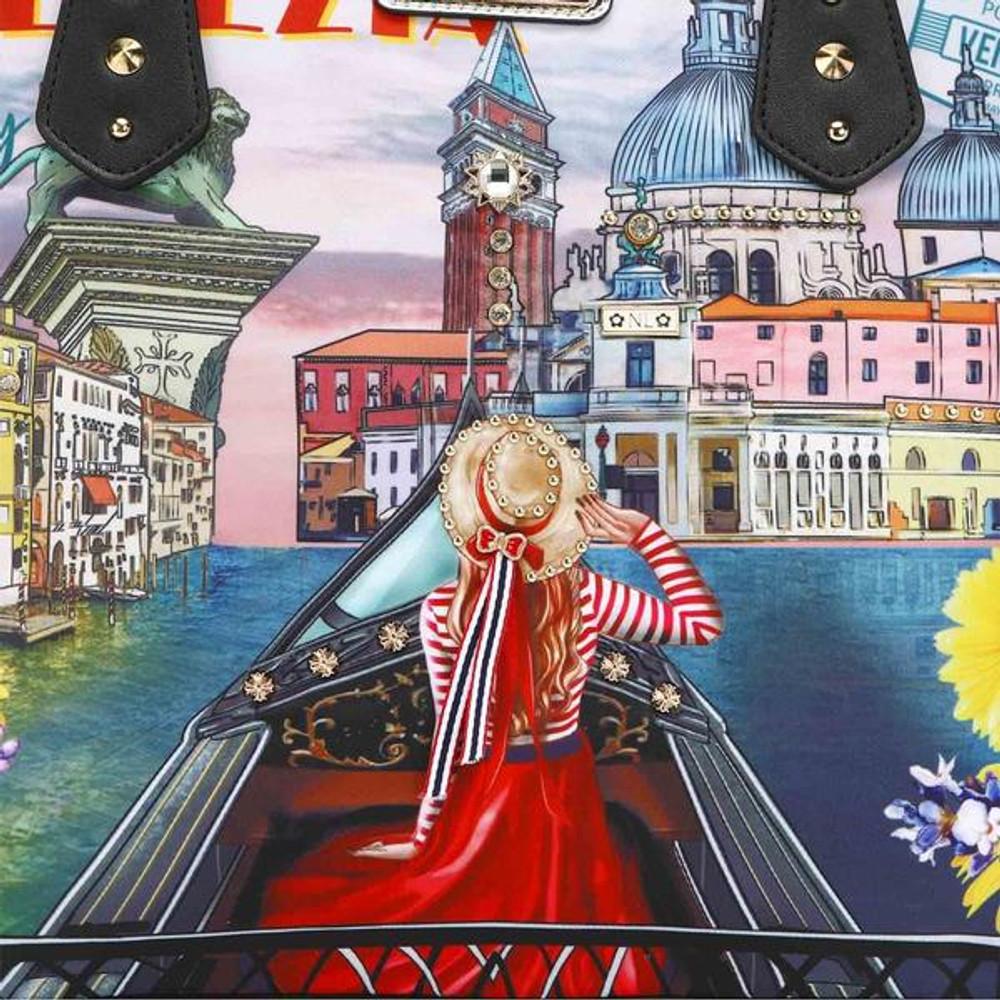 Nicole Lee Honeymoon In Venezia Nylon Shopper by Ameise