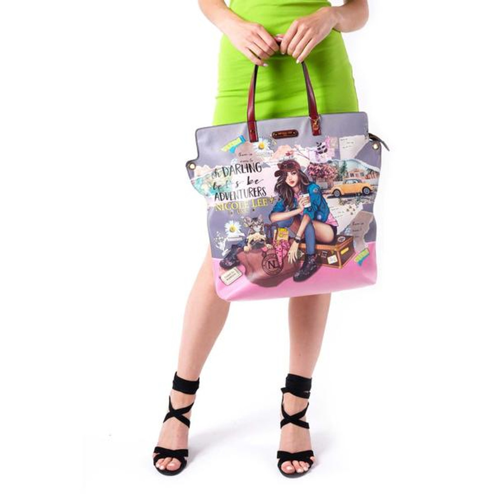 Nicole Lee Journey Of Stephanie Large Tote by Ameise