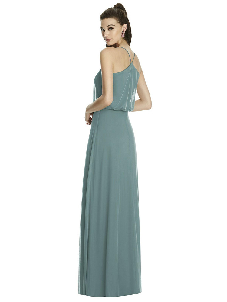 Inverted V-Back Blouson A-Line Maxi Dress TH0100 By Thread Bridesmaids